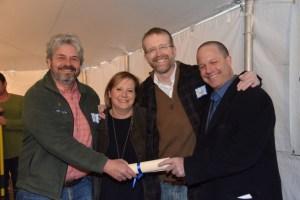 l-r: Butch Weaver, Susan Rona, Scott Peppet, Matt Rich