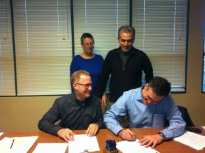 Nevei signing
