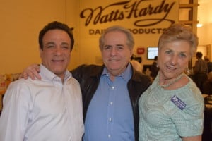 l-r: Professor Shaul Gabbay, Stan Kreis, Kathryn Bernheimer