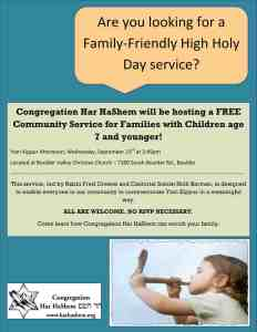 Yom Kippur_Community Service