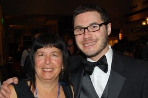 Julie Shaffer and Jonathan Lev at 2014 Reflections event