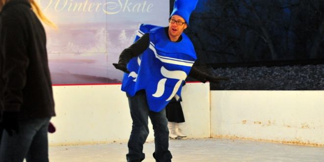 Chanukah on Ice at WinterSkate in Louisville