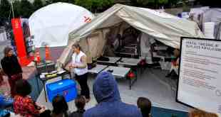 Doctors Without Borders to Reconstruct Refugee Camp on Pearl Street