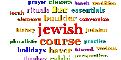 Registration Open For Intro To Judaism Course