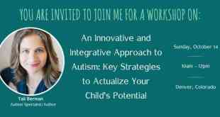International Autism Expert from Israel to Speak in Denver