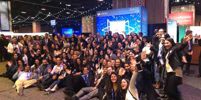 120 Jewish Agency Shlichim Attend 2019 AIPAC Policy Conference