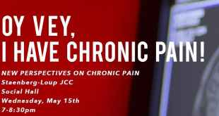 Oy Vey, I Have Chronic Pain