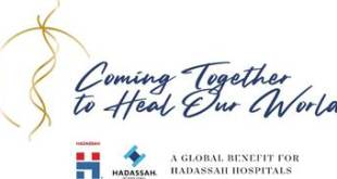 Hadassah to Hold Star-Studded Global Gala