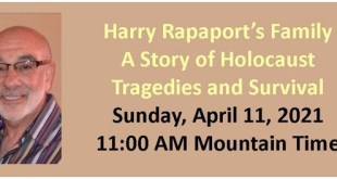 Harry Rapaport's Family: A Story of Holocaust Tragedies and Survival
