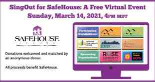 Five Community Choirs Will Sing Out for SafeHouse!