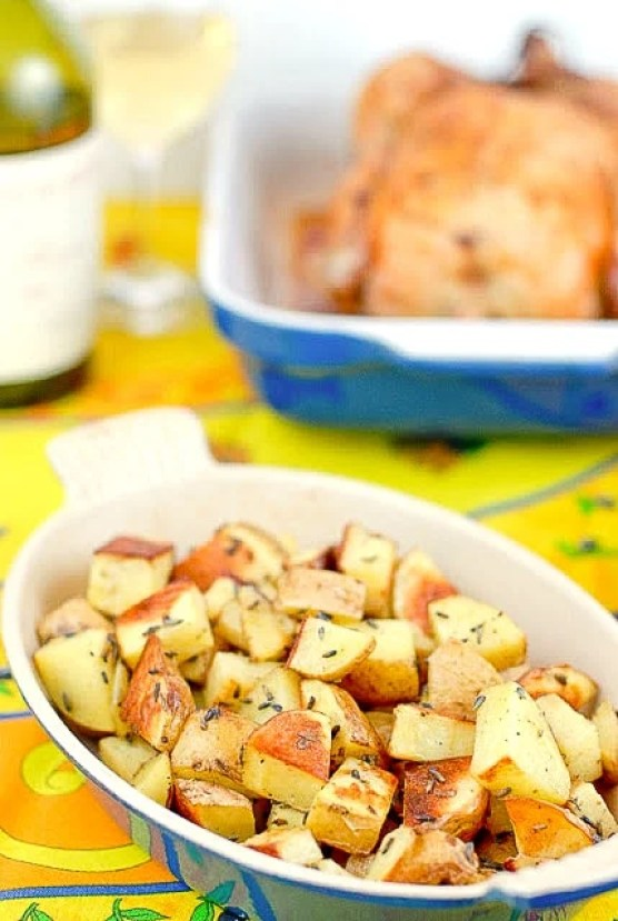Lavender Roasted Potatoes - BoulderLocavore.com