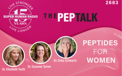 Super Human Radio – The PEPTalk:  Peptides for Women