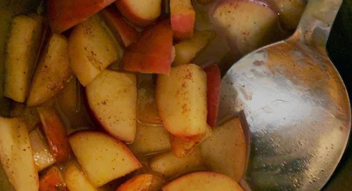 apples warm