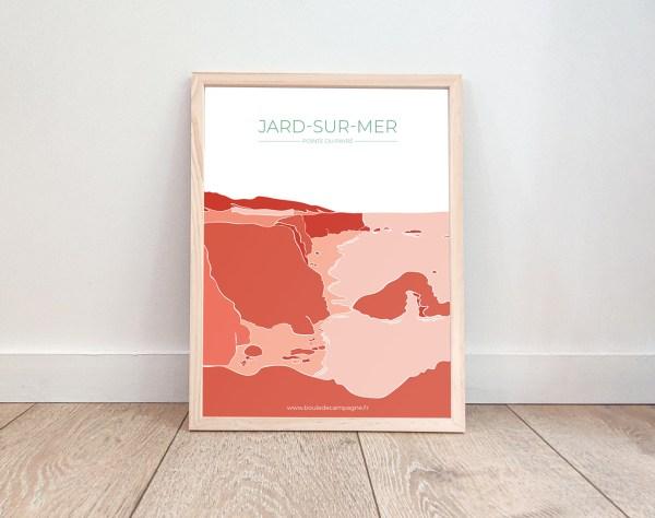 Affiche Jard sur Mer La Pointe du Payré