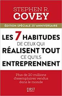 livres développement personnel Les 7 habitudes Stephen Covey