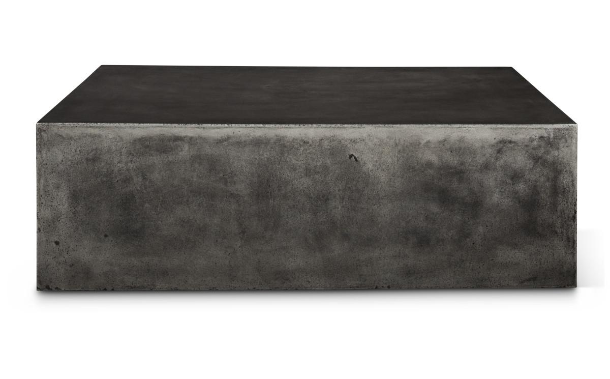 rectangular block coffee table