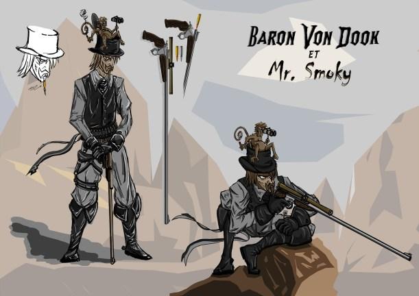 Baron Von dook et Mr Smoky