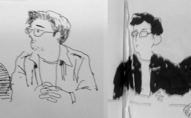 Retratos de mi persona por Luis yang y Anabel Colazo