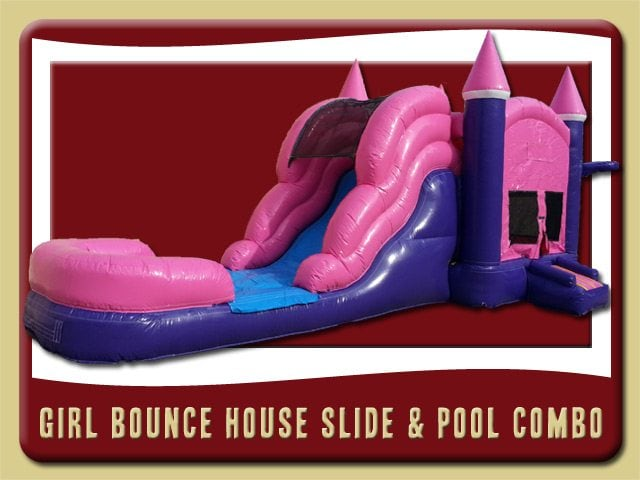 Girl Combo 26 Water Slide Rent Palm Coast