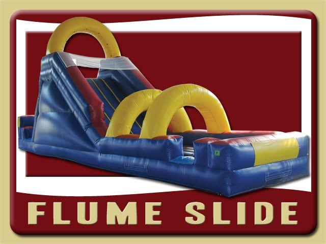 Flume Inflatable Water Slide Rental Palm Coast