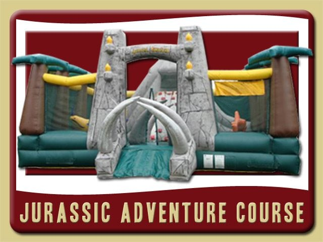 Jurassic Dinosaur Inflatable Bounce House Rental De Leon Springs