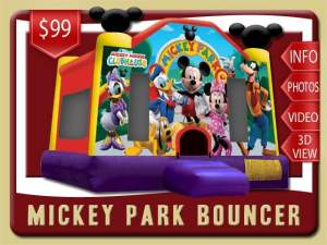 Mickey Park Bounce House Rental Mickey Mouse, Minnie, Donald Duck, Goofy