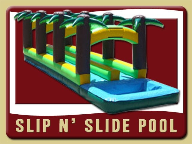 Slip N' Slide Pool Water Inflatable Rental Flagler Beach