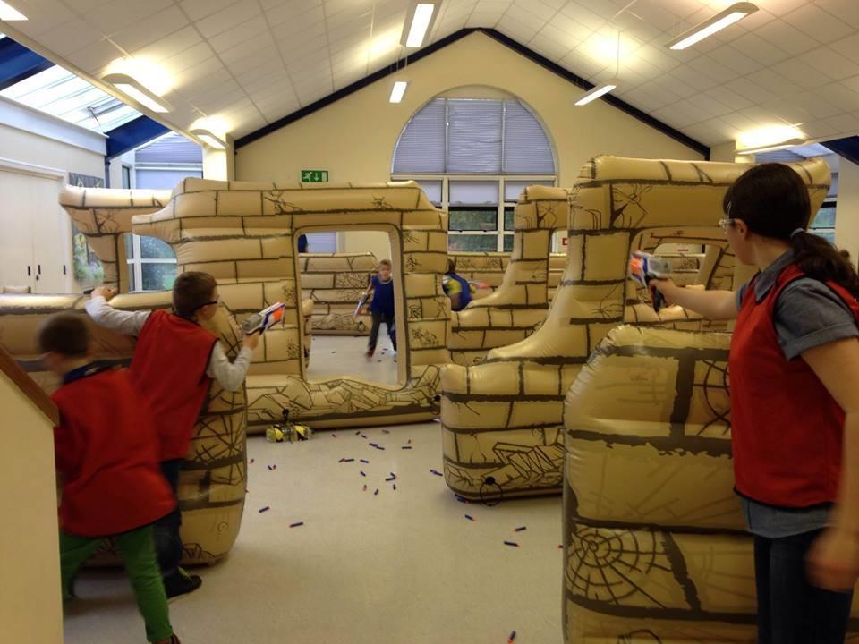 Nerf Wars Parties Bouncy Castle Hire In Bexleyheath Dartford Strood Chatham Hoo Sidcup Bexley