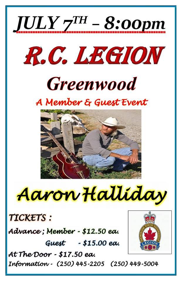 Greenwood – R.C. Legion