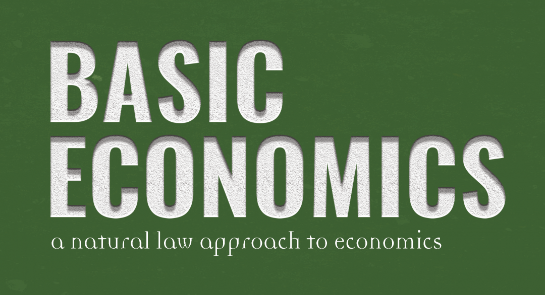Basic Economics Teacher's Guide