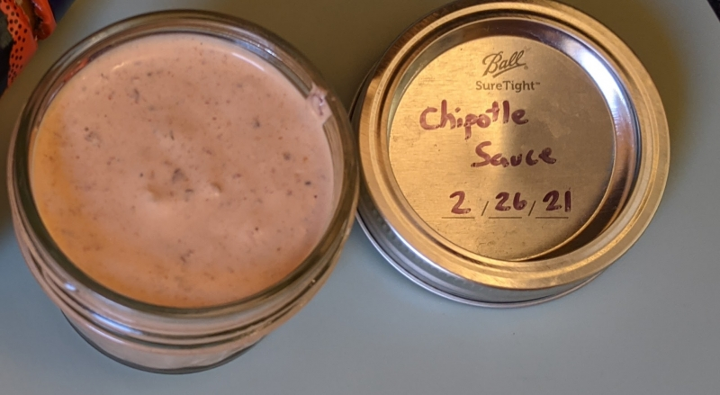 Spicy Chipotle Sauce