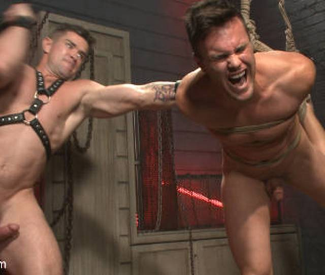 Brutal Torturing Used In Gay Bondage Sex