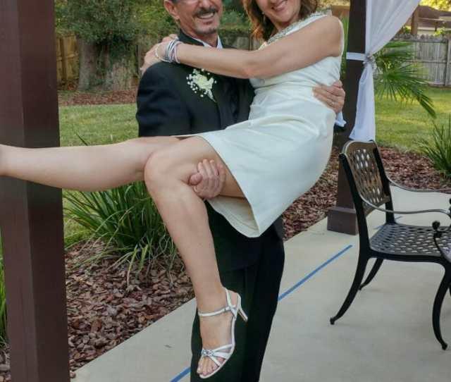 John And Vasima On Their Wedding Day