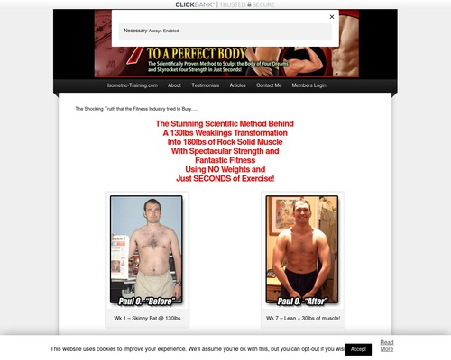 7 Seconds to A Perfect Body - The ULTIMATE Isometric Training Program