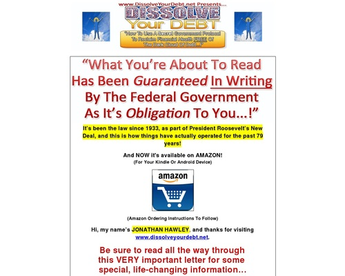 How To Get Out Of Debt Through The Government
