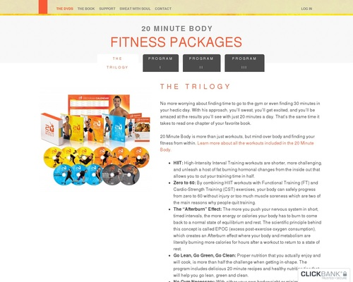 Fitness Packages | 20 Minute Body