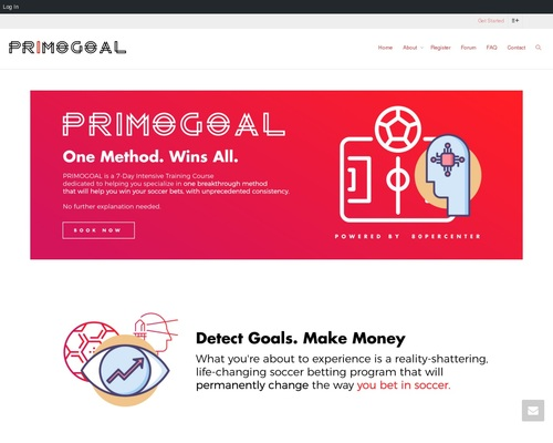 Primogoal - Laziest Soccer Betting System - Detect Goals, Earn Money