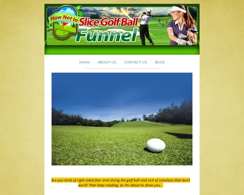 HowNotToSliceGolfBall.com | How Not To Slice Golf Ball