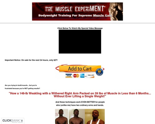 How To Build Muscle Without Weights: Discover The Lost Secrets of Bodyweight Training