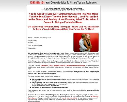 How to Kiss - Kissing Tips   Learn How to French Kiss
