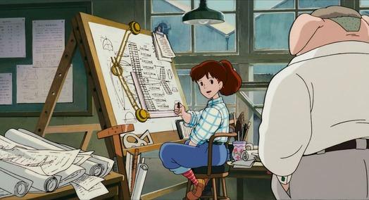 Femmes Ghibli Miyazaki Fio