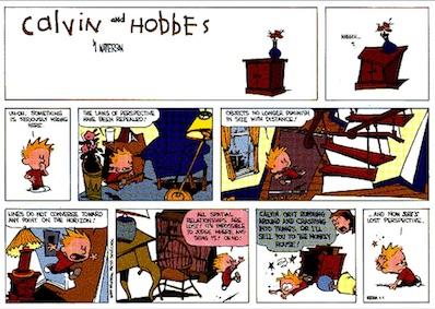 art contemporain Calvin & Hobbes 4