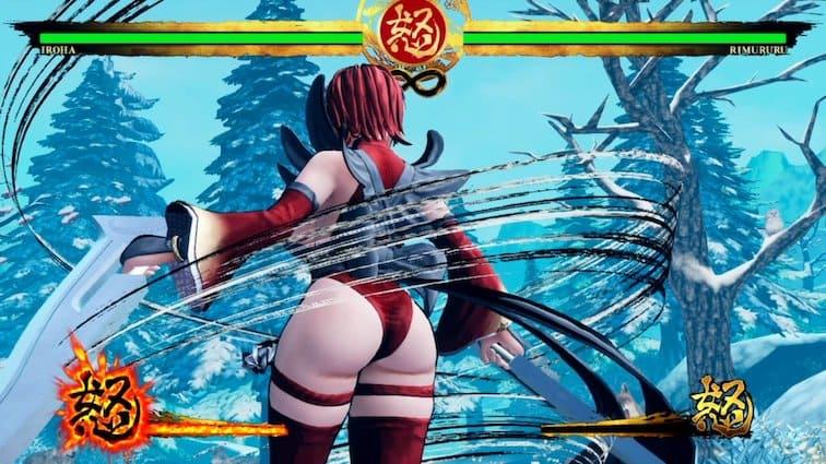 Iroha-Samourai-Showdown