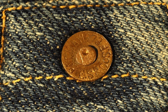 bouton jeans