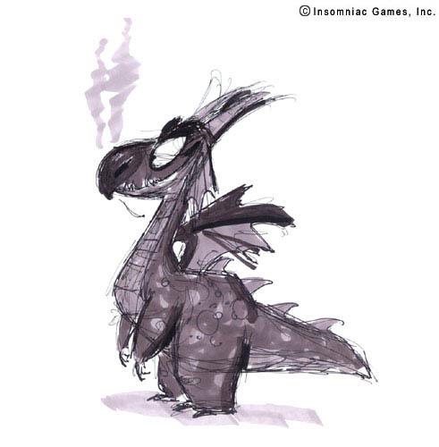Insomniac Games Spyro Dragon