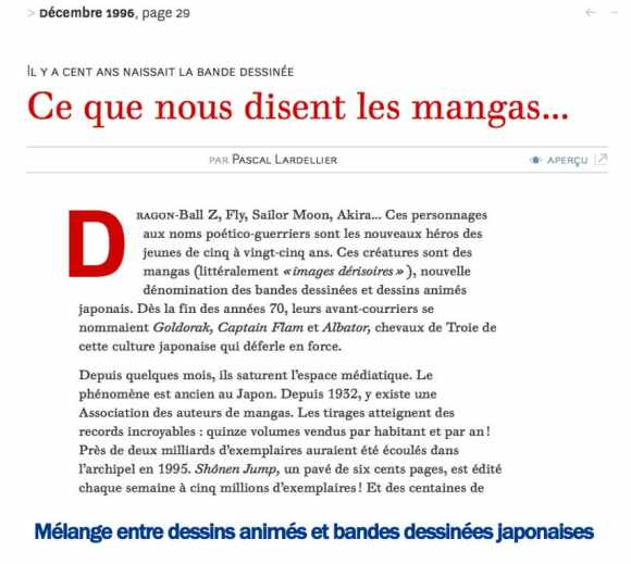 article Le Monde Diplomatique