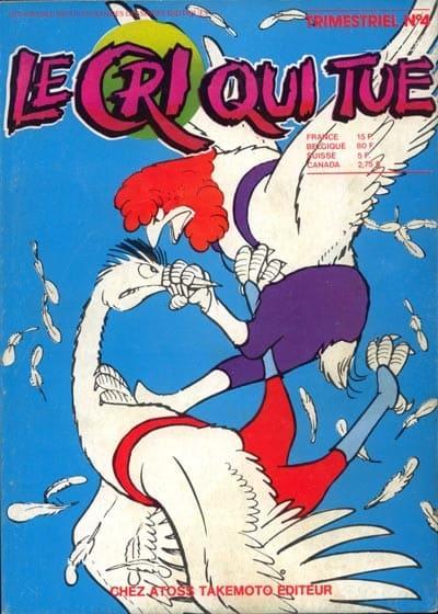 cri qui tue Préhistoire du manga en France