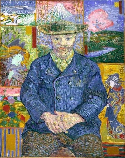 Van Gogh, Portrait du Père Tanguy (1887)
