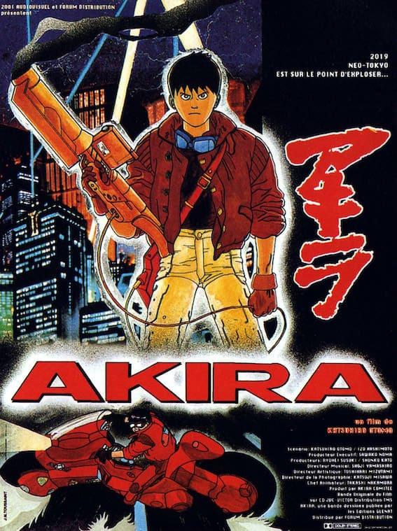 Poster français du film Akira