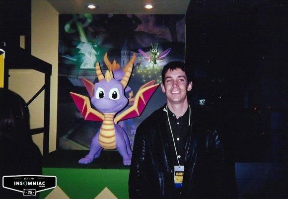 Insomniac Games Spyro Dragon photo